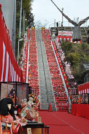 百段階段でひなまつり 3月3日(土) @十二所神社 大子町商工会 #ひな祭り #雛祭り #百段階段でひなまつり #百段階段 #アップルパイ @ 十二所神社 | 大子町 | 茨城県 | 日本