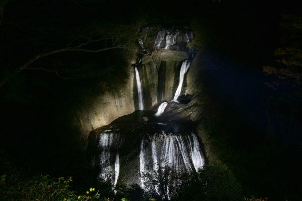 袋田の滝ライトアップ