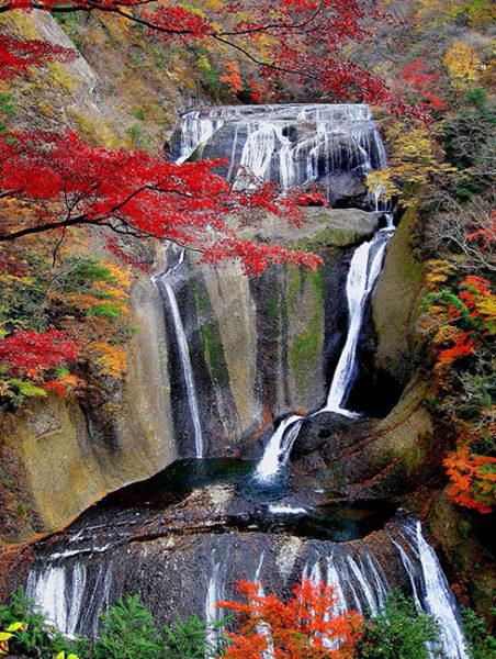 袋田の滝_四季