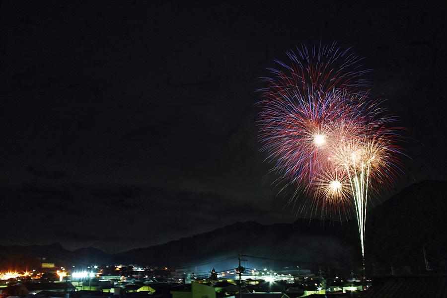 秋のだいご美-2020-花火